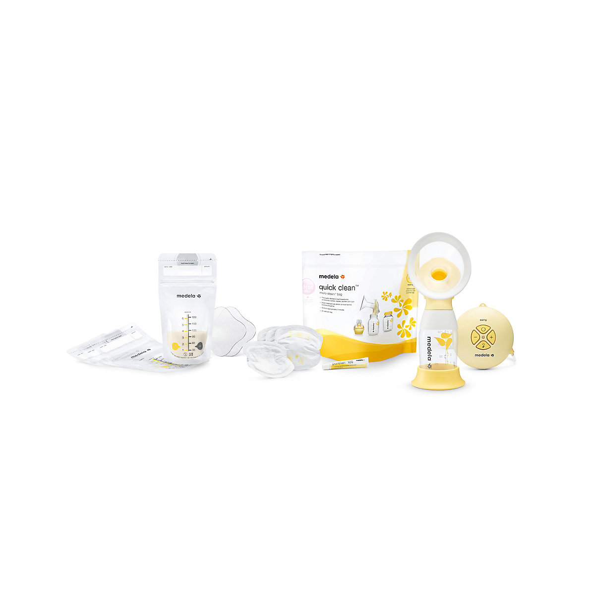 Medela swing flex™ essentials set *exclusive to mothercare*