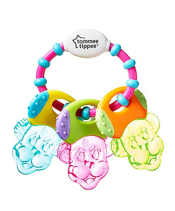 Tommee Tippee teethe 'n' play water-filled keys