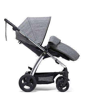 Mamas & Papas  sola2 pushchair c/w footmuff  - grey marl