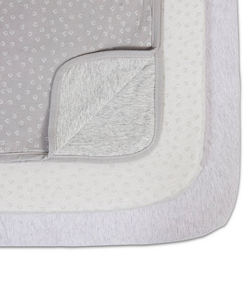 Tutti Bambini coZee bedside crib starter set - grey/cloud *exclusive to mothercare*