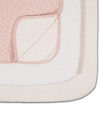 Tutti Bambini coZee bedside crib starter set - pink/rose *exclusive to mothercare*