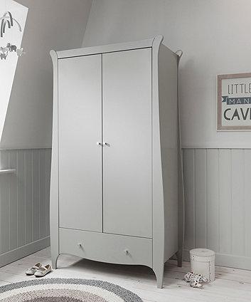 roma wardrobe - dove grey