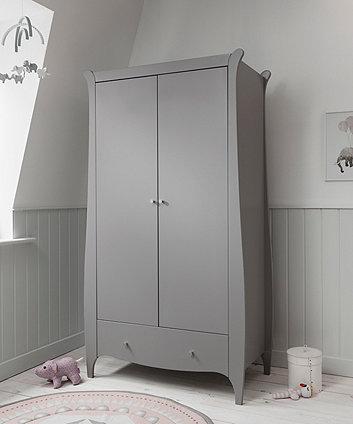 roma wardrobe - truffle grey