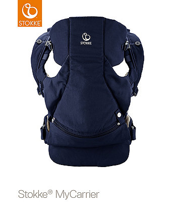 Stokke® MyCarrier™ Front and Back Carrier Deep Blue
