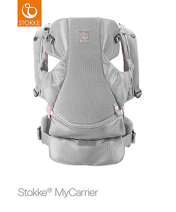 Stokke® MyCarrier™ Front and Back Carrier Pink Mesh
