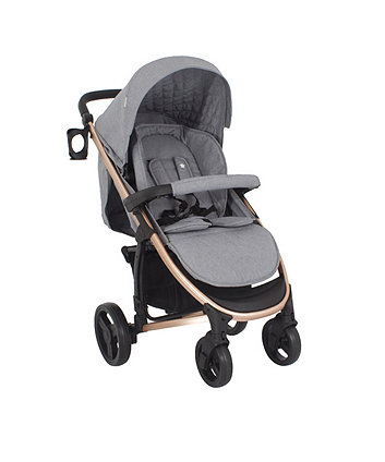 My Babiie MB200 rose gold and grey melange 3-in-1 travel system