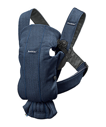 BabyBjörn baby carrier mini 3d mesh -  navy blue