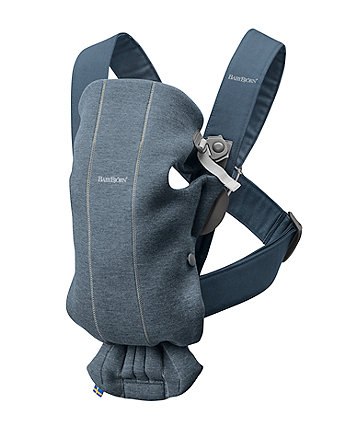 BabyBjörn baby carrier mini 3d jersey - dove blue