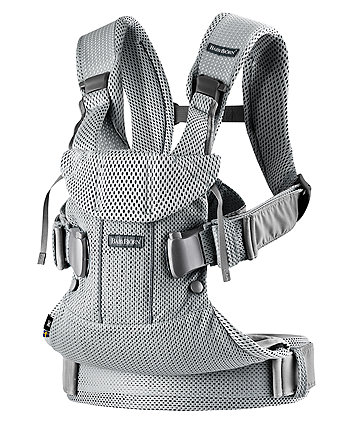 BabyBjörn baby carrier one air  3d mesh - silver