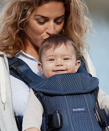 BabyBjörn baby carrier one air 3d mesh - navy blue