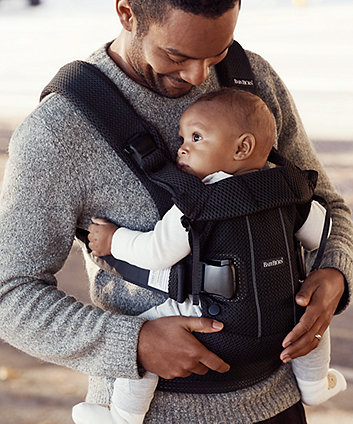 BabyBjörn baby carrier one air 3d mesh - black