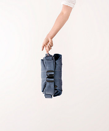 BabyBjörn baby carrier one  cotton mix - classic denim