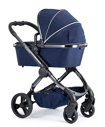 iCandy peach pushchair and carrycot combo - indigo phantom