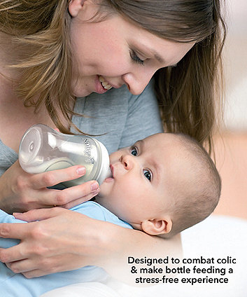 Nuby combat colic bottle