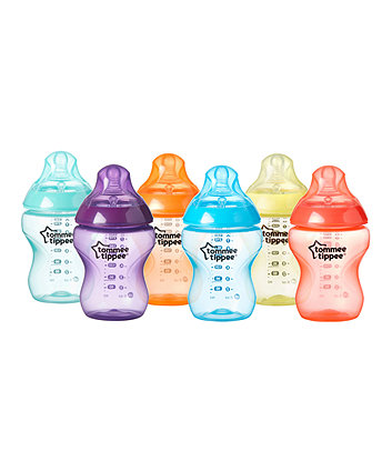 Tommee Tippee closer to nature fiesta bottles 260ml x 6