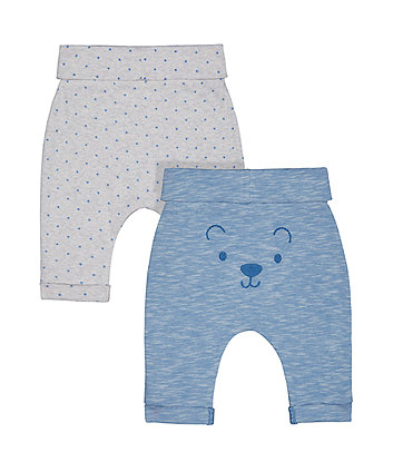 my first blue star and bear joggers – 2 pack