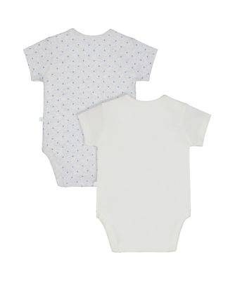 my first elephants and stars bodysuits – 2 pack