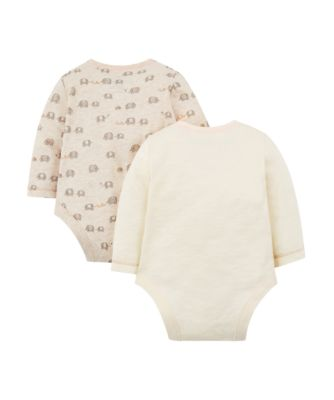 happy together elephant boysuits - 2 pack