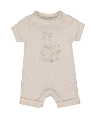 my first giraffe romper