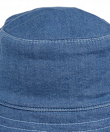 my first blue sun hat