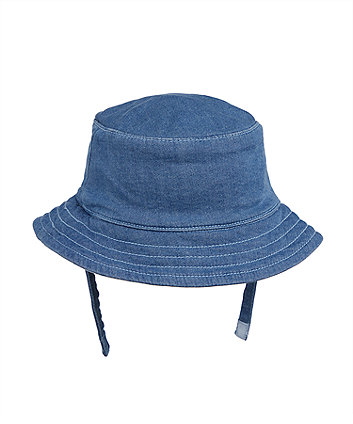 my first blue sun hat
