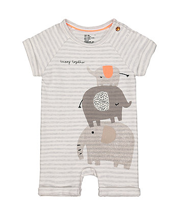 4c988dd147c8 happy together elephant stripe romper
