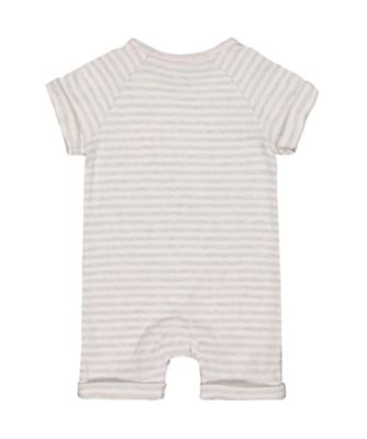 happy together elephant stripe romper