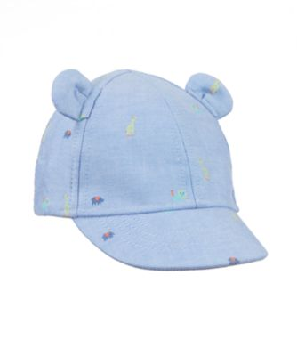 chambray animal cap