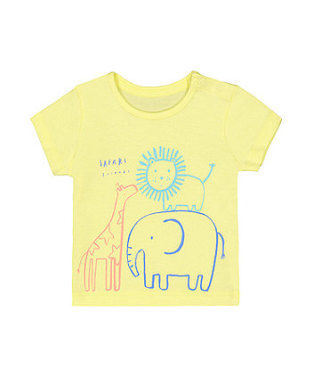 safari animals t-shirt