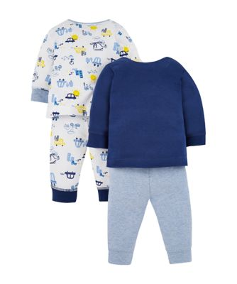on the road pyjamas - 2 pack