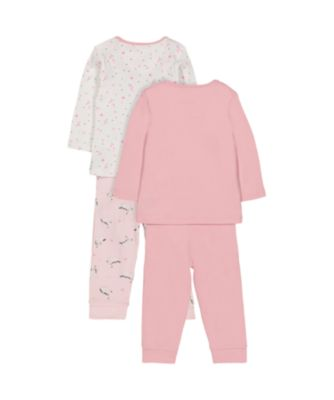 unicorn and star pyjamas - 2 pack