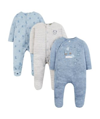 my first little friend sleepsuits - 3 pack