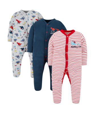 mummy and daddy sleepsuits - 3 pack