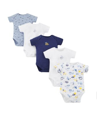on the road bodysuits - 5 pack