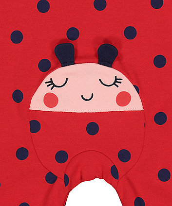 ladybird all in one with hat