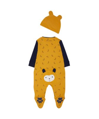 cheeky monkey all in one and hat set