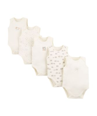 elephant bodysuits – 5 pack