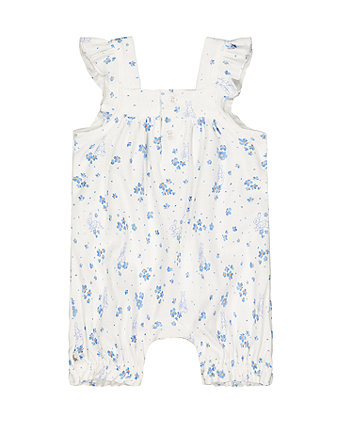 peter rabbit floral romper