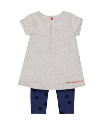 Disney minnie tunic and leggings set