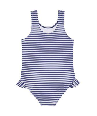 lovely ladybird blue stripe swimsuit
