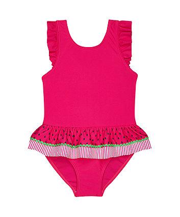 pink watermelon swimsuit