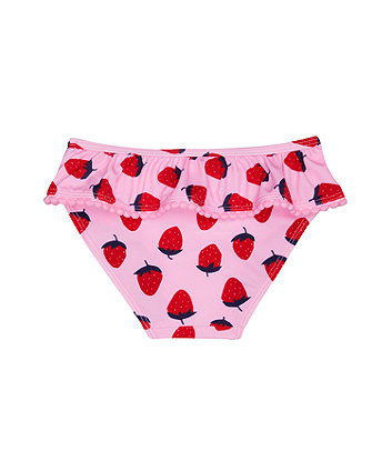 pink strawberry bikini bottoms