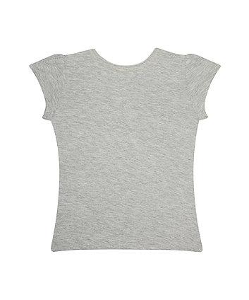 grey bunny t-shirt