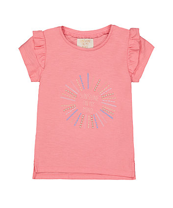 pink sunshine t-shirt