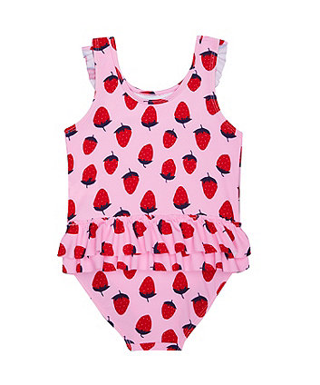 strawberry frill swimsuit
