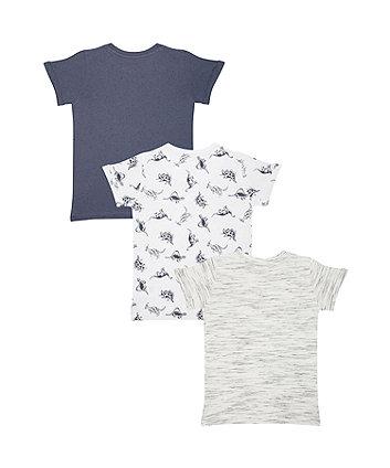 dinosaur t-shirts – 3 pack
