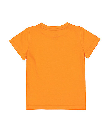 orange sun shine t-shirt