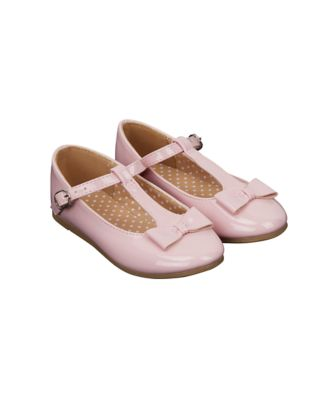pink bow mary jane shoes