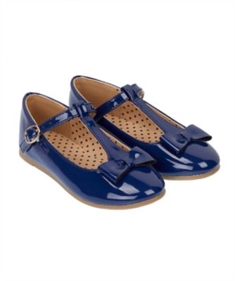 navy bow mary jane shoes