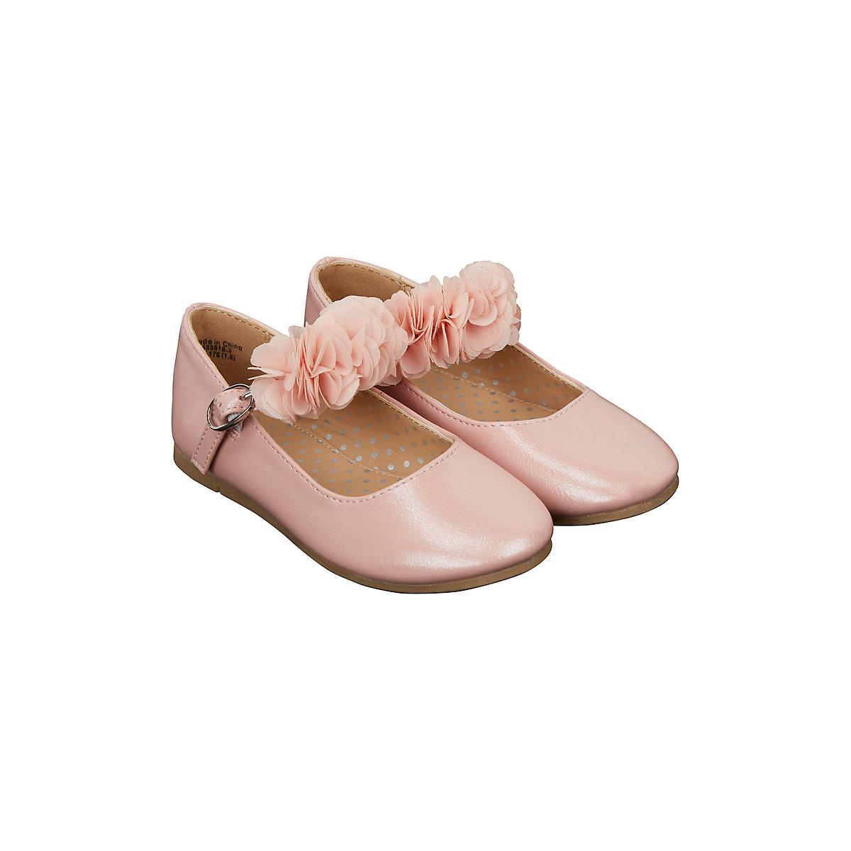 pink flower ballerina shoes